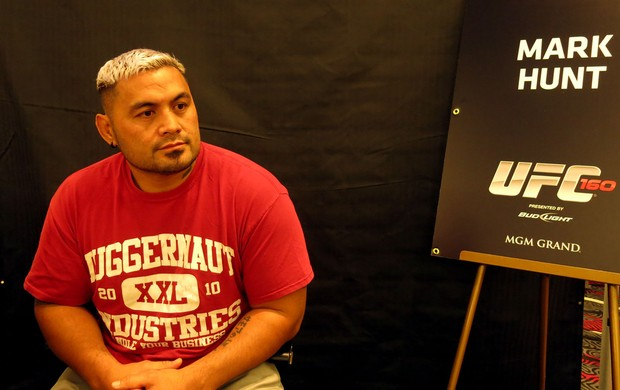 Mark Hunt UFC 160 MMA (Foto: Marcelo Russio)