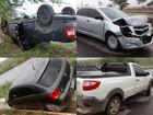 'Cochilo' causa acidente com quatro carros na BR-104 em Toritama, PE