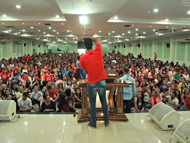 """Seminário """"Eu Escolhi Esperar"""" em Manaus (Foto: Adneison Severiano G1/AM)"""