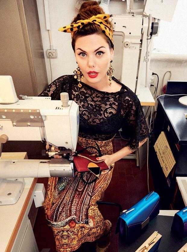 Sara Battaglia irá lançar primeira coleção de rtw (Foto: Arquivo Vogue)