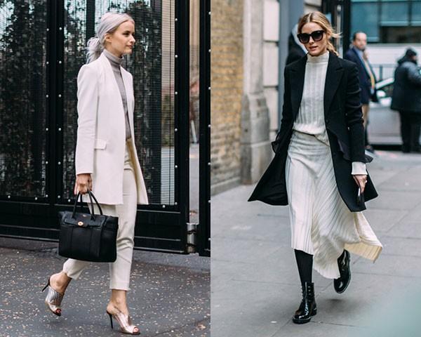 A moda de rua está repleta de inspirações minimal (Foto: Imaxtree)