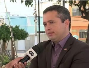 Fabrizio Almeida, presidente do Conselho Deliberativo do ASA (Foto: Reprodução/TV Gazeta)