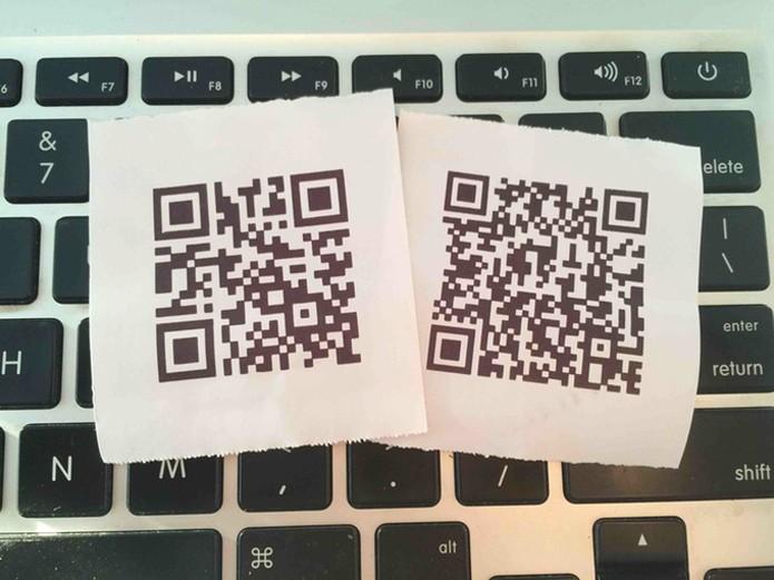 Aplicativo pode criar QR codes personalizados (foto: Reprodução/Kickstarter)