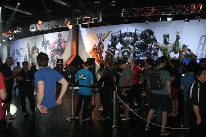 Copa do Mundo de Overwatch movimentou a BlizzCon (Foto: Felipe Vinha)