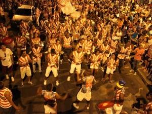 Carnaval conta com desfile dos blocos   (Foto: Foto: ASCOM Prefeitura de Itaúna / Divulgação)
