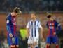 """Piqué lamenta atuação do Barcelona: """"Assim não podemos ganhar a Liga"""""""