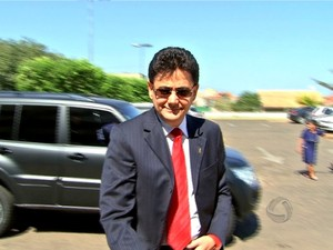O ex-secretário de estado Éder Moraes (PMDB) é um dos principais investigados na operação Ararath. Ele já é réu na primeira ação penal provocada pelas investigações. (Foto: Reprodução / TVCA)