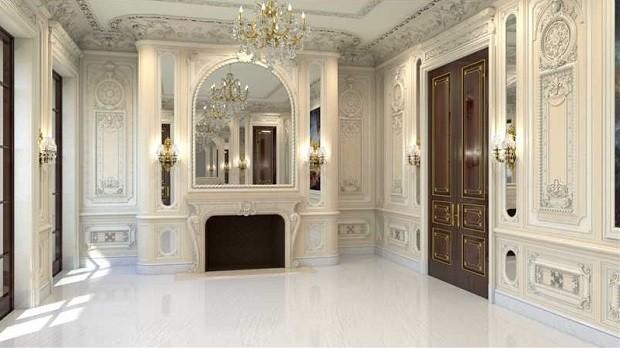No total, a mansão tem 11 quartos e 17 banheiros (Foto: Divulgação/Coldwell Banker Residential Real State)