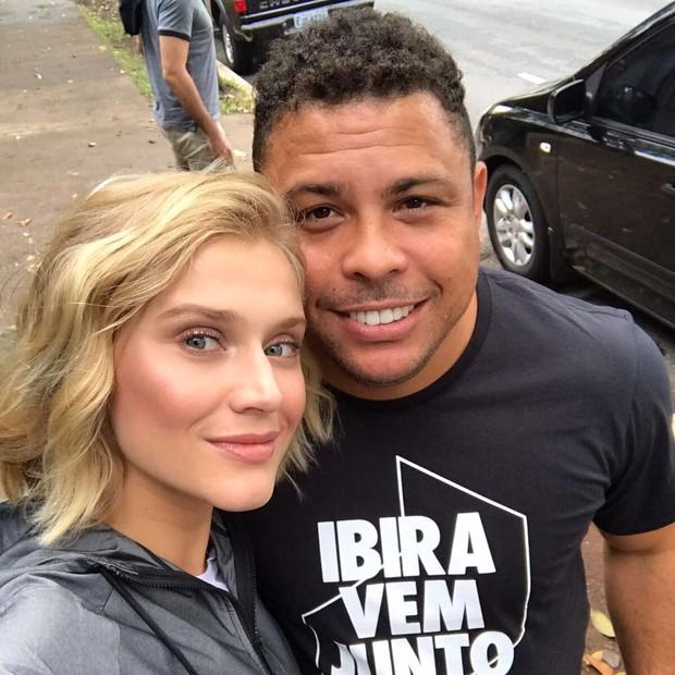 Celina Locks e o namorado, Ronaldo (Foto: divulgação)