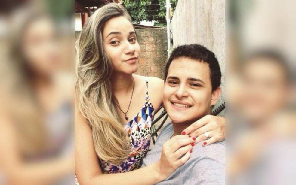 Marina Helena e Diogo são mortos a tiros em Aparecida de Goiânia (Foto: Arquivo pessoal/ Victor Siqueira)