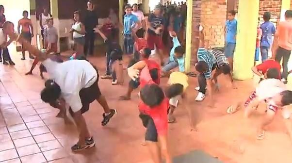 O objetivo é fazer com que as pessoas passem a praticar esportes e mude de hábitos  (Foto: Bom Dia Amazônia)