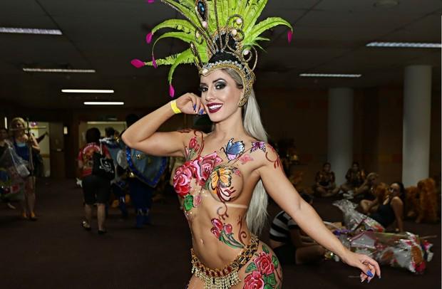Iara Ferreira, musa da Tucuruvi (Foto: Celso Tavares / EGO)