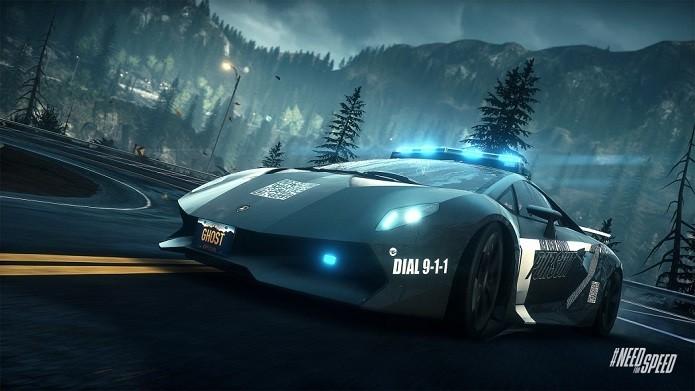 Lamborghini Sesto é uma das novidades do DLC (Foto: Divulgação/EA)