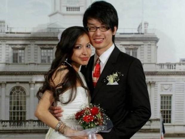 Wendy Cruz-Chan e seu marido (Foto: Wendy Cruz-Chan/Divulgação)