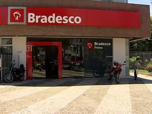 Assalto Bradesco Salvador (Foto: Imagem/TV Bahia)