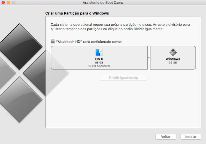 Defina o espaço em disco ocupado pelo Windows (Foto: Reprodução/Helito Bijora)