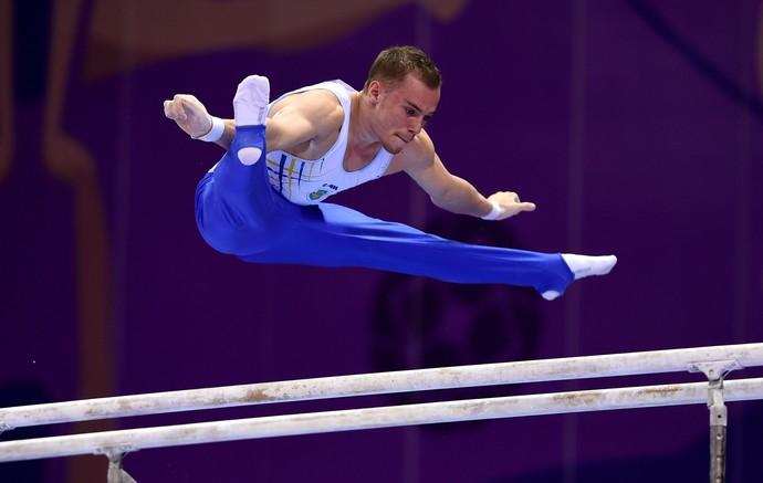 Oleg Verniaiev nos Jogs Europeus de Baku (Foto: Getty Images)