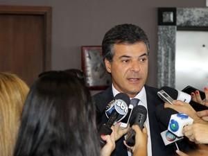 Paraná TV 1ª Edição Beto Richa  (Foto: Orlando Kissner/ Divulgação/ ANPr)