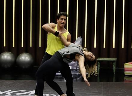 Valesca, no seu primeiro ensaio: 'Agora vou aprender a dançar de verdade'