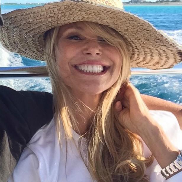 A supermodelo norte-americana Christie Brinkley, de 61 anos de idade. (Foto: Instagram)
