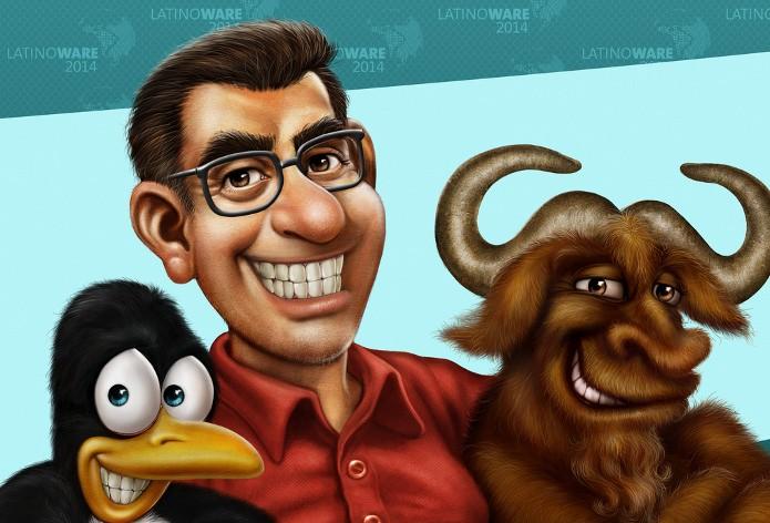 Elias Silveira é ilustrador e produz conteúdo com Gimp. (Foto: Elias Silveira)