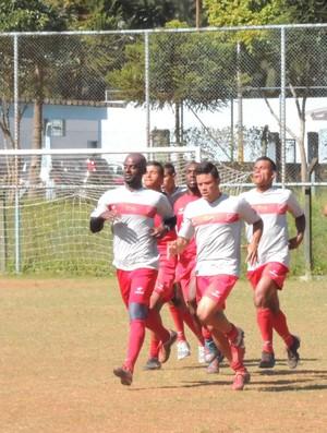 União Mogi treino (Foto: Globoesporte.com)