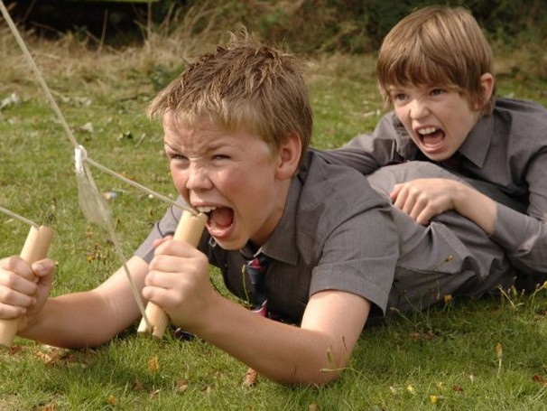 Com apenas uma câmera e muita imaginação, as aventuras dos garotos começam a virar realidade (Foto: Divulgação / Reprodução)