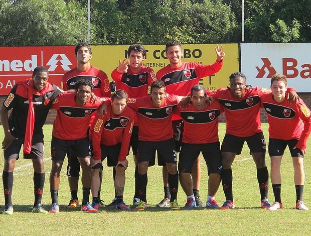 Rachão, flamengo, Zinho (Foto: Janir Júnior / Globoesporte.com)