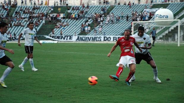 Botafogo-PB, Sergipe, Campeonato Brasileiro, Série D, (Foto: Richardson Gray / Globoesporte.com/pb)
