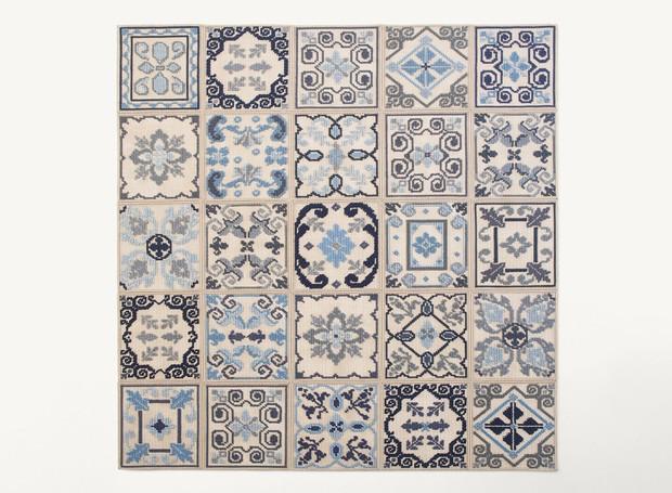 donna-florio-tapete-paola-lenti-milao-design-ponto-cruz.jpg (Foto: Divulgação)