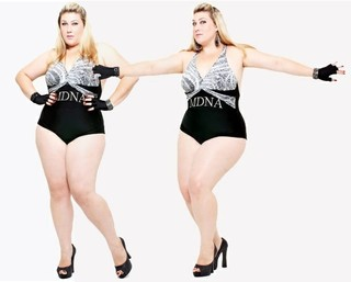 Samantha Rebello - Plus Size  (Foto: Max Oliveira / LT3 Studios)