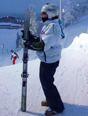 Lais Souza, esqui estilo livre, Ruka - Finlândia (Foto: Divulgação)