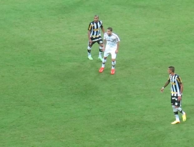 rafael marques Botafogo x Fluminense Arena Pernambuco (Foto: Fred Huber)