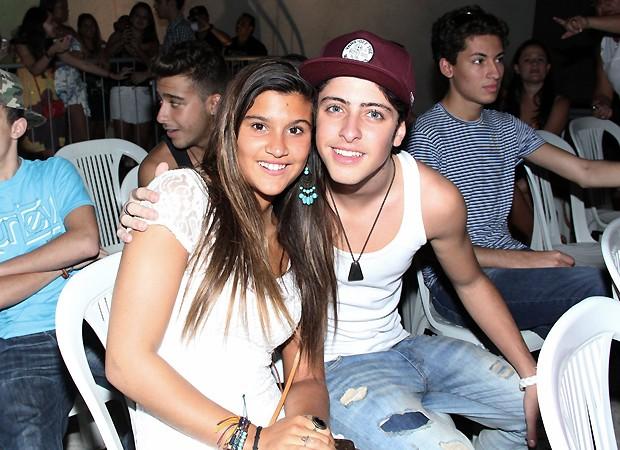 Giulia Costa e Eike Duarte (Foto: Ag News)