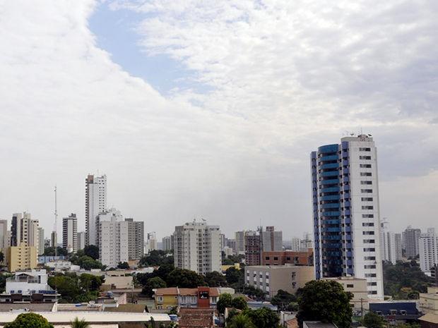 Frente fria deve atingir o estado no final de semana  (Foto: Leandra Ribeiro / G1)