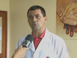 Fabiano Fonseca enfermeiro do Redome no Amapá (Foto: Reprodução/TV Amapá)