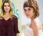 Letícia Spiller e Carla Salle são Monique e Maria em 'Os dias eram assim' | TV Globo