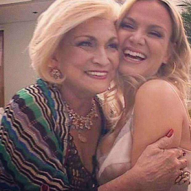 Eliana e Hebe Camargo (Foto: Reprodução/Instagram)