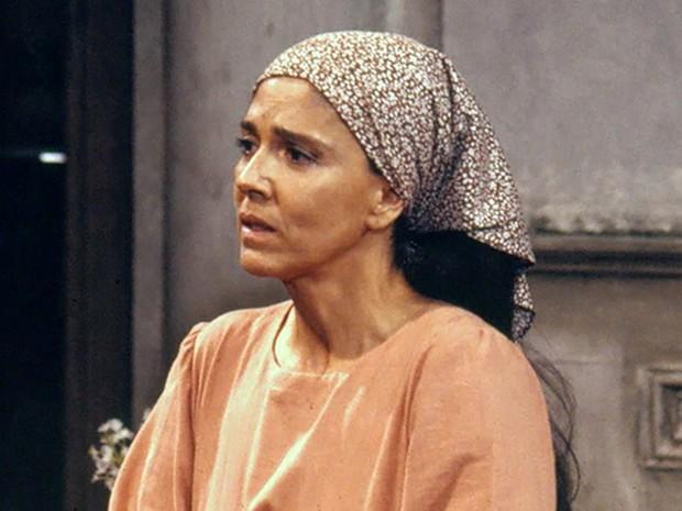 Yoná Magalhães em 'Tieta', novela de 1989 (Foto: Bazilio Calazans/TV Globo/Arquivo)