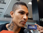 """Guerrero chega ao Peru e diz que momento no Fla """"não deve influir"""""""