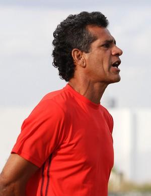 Washington Lobo, técnico da Queimadense (Foto: Nelsina Vitorino / Jornal da Paraíba)