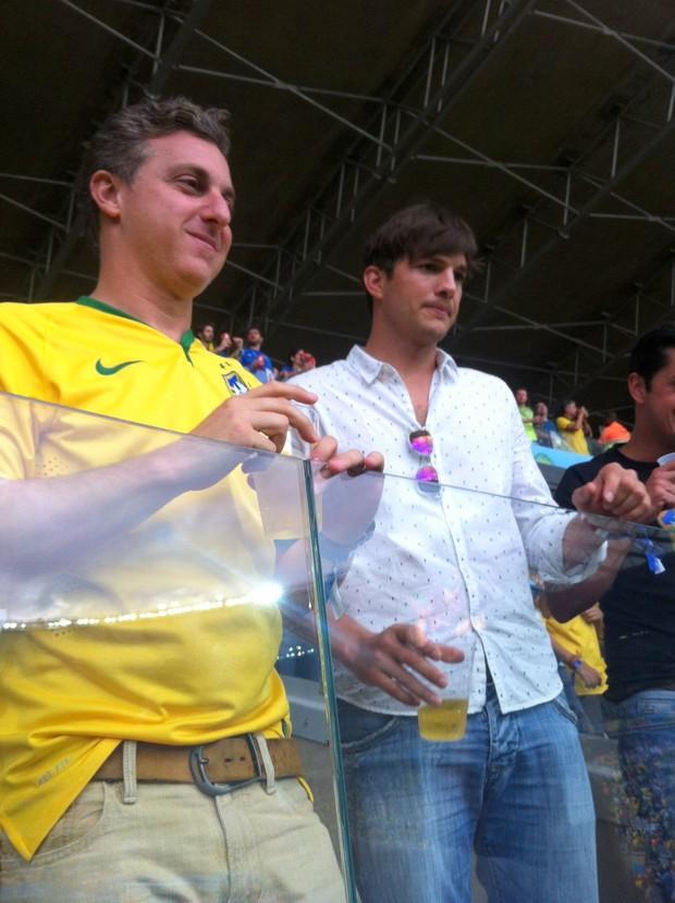 Ashton Kutcher (Foto: Gabriel Reis/ Ag. News)