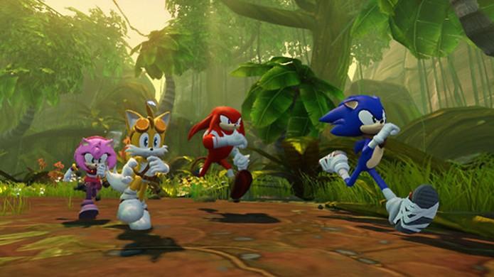 Sonic Boom é mais um dos jogos exclusivo do mascote para plataformas Nintendo (Foto: polygon.com) (Foto: Sonic Boom é mais um dos jogos exclusivo do mascote para plataformas Nintendo (Foto: polygon.com))