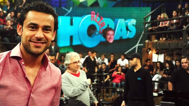 Fred, Fluminense, Altas Horas (Foto: Marcos Ribolli / GLOBOESPORTE.COM)