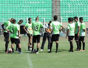 Treino do Presidente Prudente, PPFC, Presidente Prudente Futebol Clube (Foto: Kawanny Barros / GloboEsporte.com)