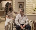Maria Fernanda Cândido e Dan Stulbach em 'A força do querer' | Reprodução