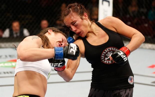 Valerie Letourneau x Elizabeth Phillips UFC MMA (Foto: Getty Images)