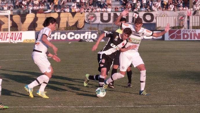 Fellype Gabriel Vasco meia  (Foto: Bruno Ribeiro)
