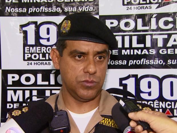 Tenente coronel da PM falou sobre reação da polícia na confusão após o jogo do Boa Esporte e Guarani, em Varginha (Foto: Reprodução EPTV)