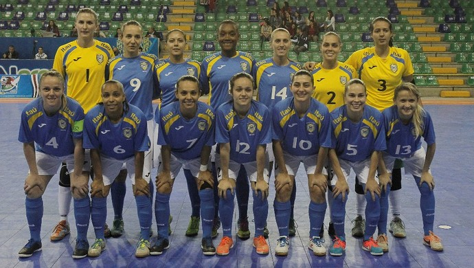 Brasil Mundial Futsal Feminino (Foto: Divulgação)